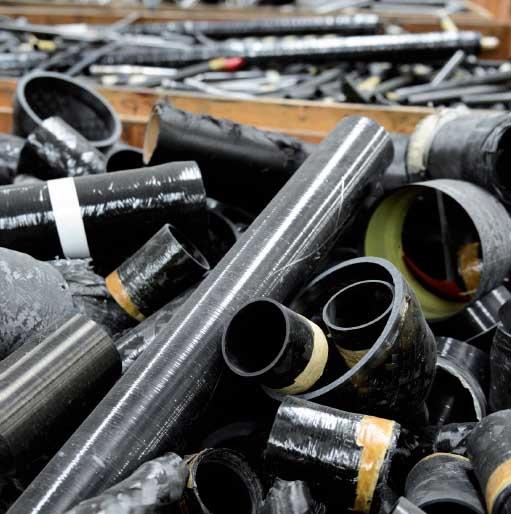 碳纤维废品