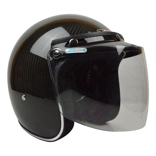 碳纤维亮光头盔